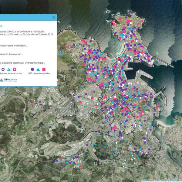 Visor de Intervencións do Concello da Coruña